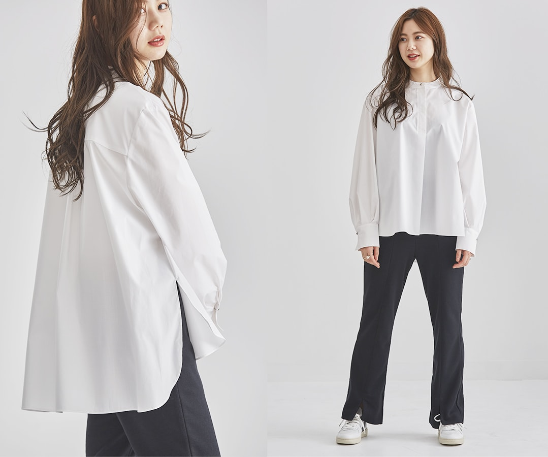 NATURALTYPE BLOUSE white