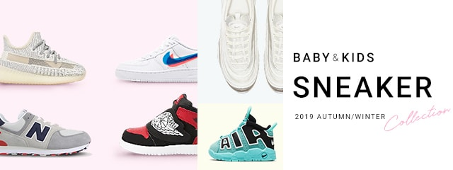 BABY&KIDS SNEAKER COLLECTION 2019 SPRING/SUMMER