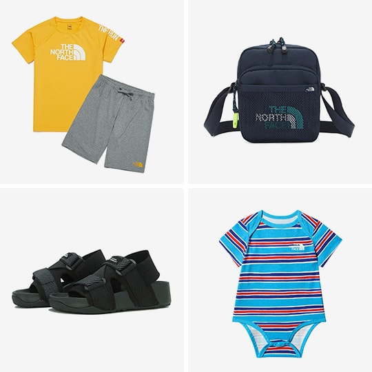 2021 SPRING/SUMMER THE NORTH FACE for BABY KIDS