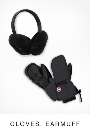 GLOVES, EARMUFF