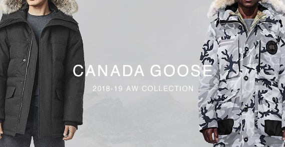 CANADA GOOSE 2018AW COLLECTION