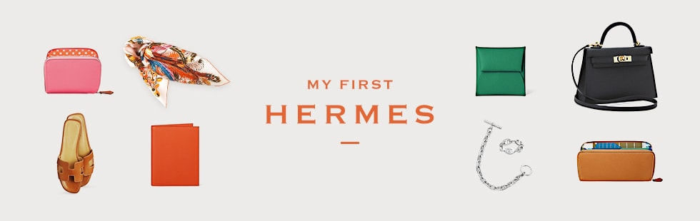 MY FIRST HERMES 人生初のエルメスは一生の宝物
