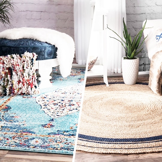 DESIGN RUG Collection in Summer