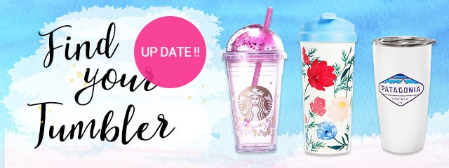 Find your tumbler!