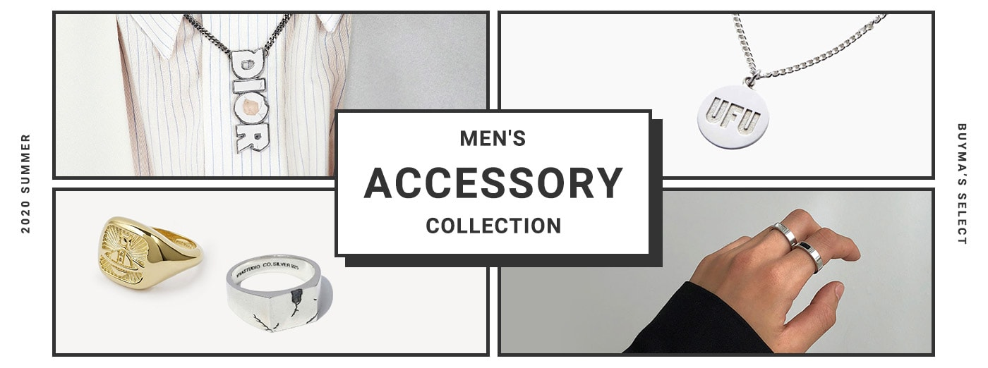 MEN'S ACCESSORY COLLECTION この夏の主役を探す