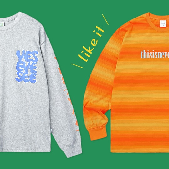 ロンTがやっぱり好き。MEN'S Long Sleeve T-shirts Collection