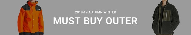 2018-19 AUTUMN & WINTER MUST BUY OUTER
