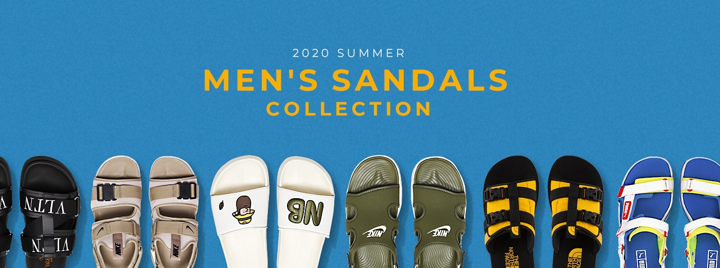 MEN'S SANDALS COLLECTION