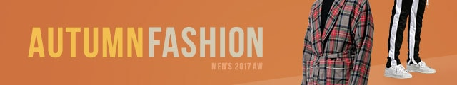 2017 MENS AUTUMN FASHION