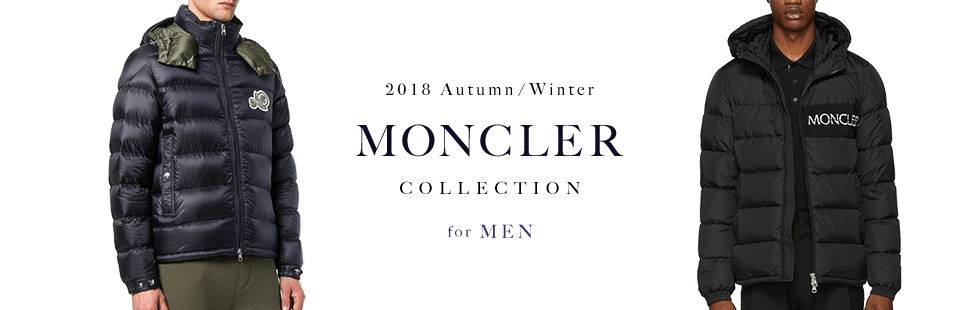 2018 Autumn / Winter MONCLER COLLECTION for MENS