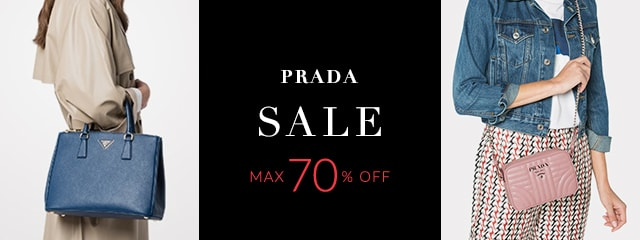 PRADA SALE MAX 70%OFF