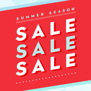 SUMMER SEASON SALE!SALE!SALE!