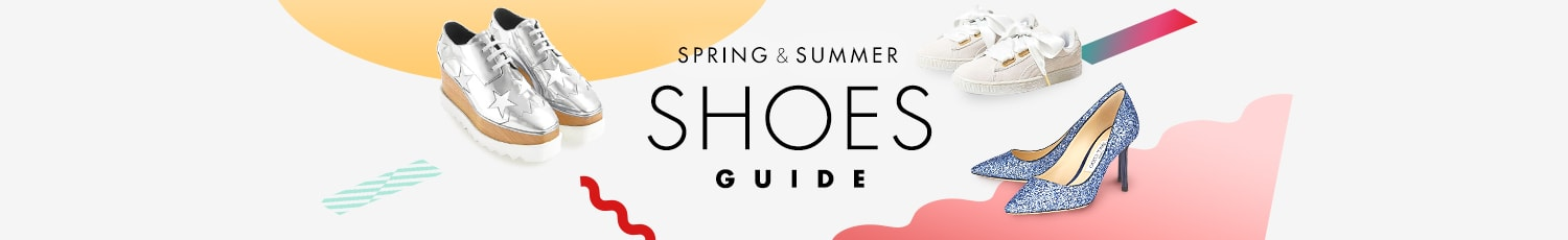 SPRING&SUMMER SHOES GUIDE