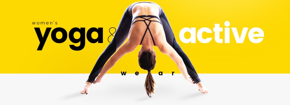 women's yoga & active wear