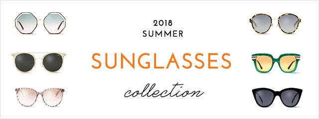 2018 SUMMER SUNGLASSES collection